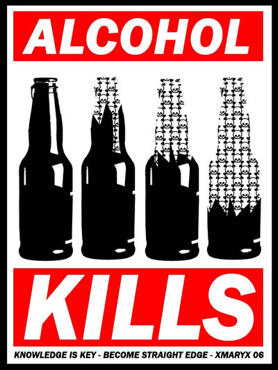 alcohol kills become straight edge