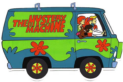 scooby doo the mystery machine
