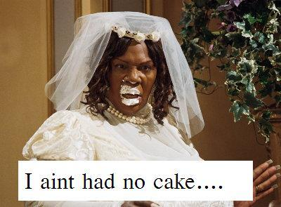 fat lady ain't had no cake