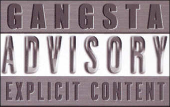 gangsta advisory explicit content