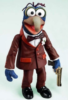 gonzo gangsta with gun