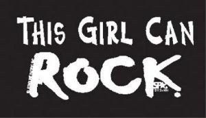 this girl can rock