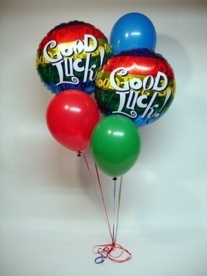 good luck balloons