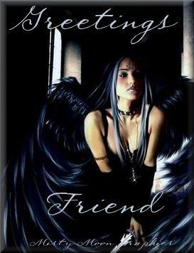 Greetings friend - sexy angel