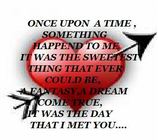 fantasy dream the day i met you