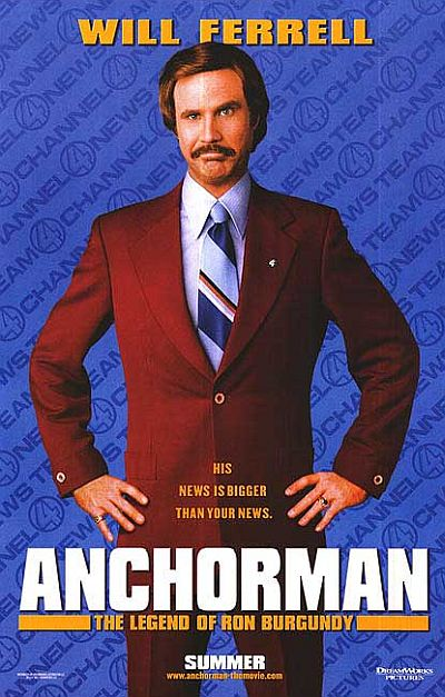will ferrell - anchorman - the legend of ron burgundy