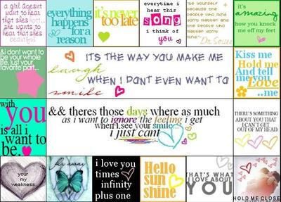 quote collage
