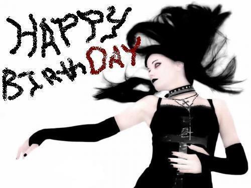 happy birthday goth birthday
