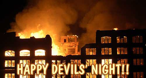 happy devils night - Devils Night graphics for Facebook