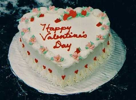 happy valentines day cake