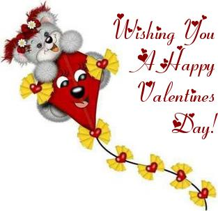 wishing you a happy valentines day