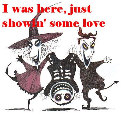 i was here just showin some love nightmare before christmas
