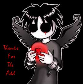 thanks for the add emo angel