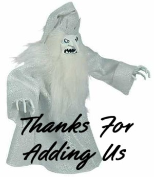 thanks for adding us ghost monster