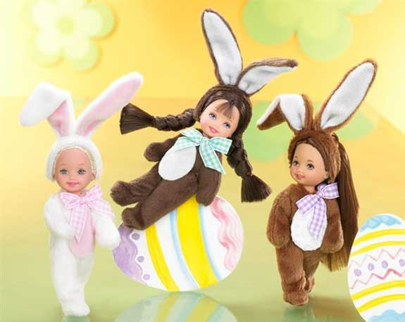 easter bunny dolls