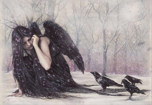 dark angel crows