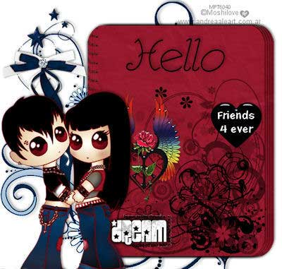 hello friends forever