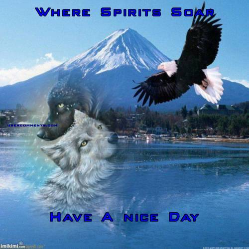 Where Spirits Soar Have A nice Day