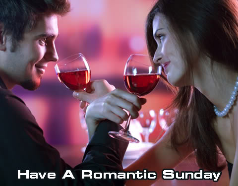 have a romantic sunday