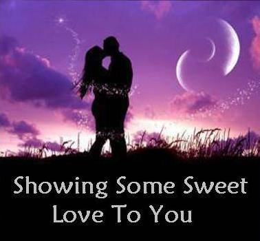 Showing Some Sweet Love To You