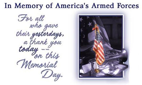 in memory of americas armed force