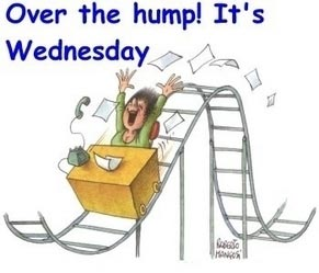 over the hump its wednesday