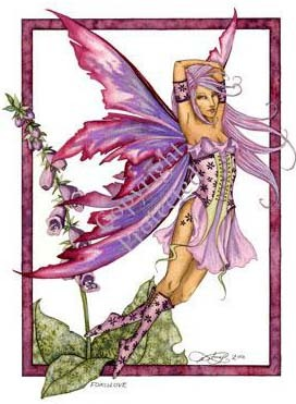 pink and purple fairy