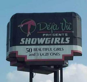 deja vu 50 beautiful girls and 3 ugly ones