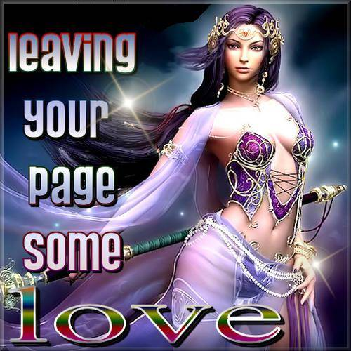 Leaving your page some love