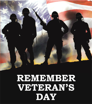 Remember Veteran's Day