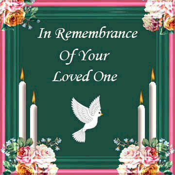 in remembrance of your loved one