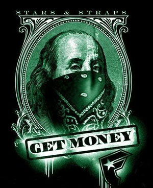 gangsta benjamin franklin get money
