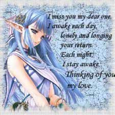 i miss you my dear one