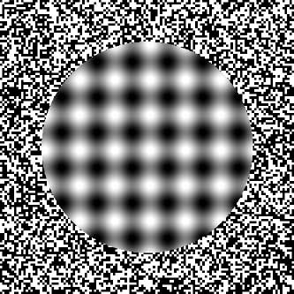blur illusion