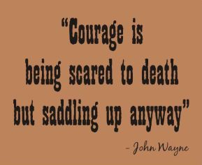john wayne quote courage