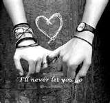 i'll never let you go