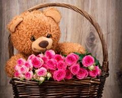 Teddy & Flowers