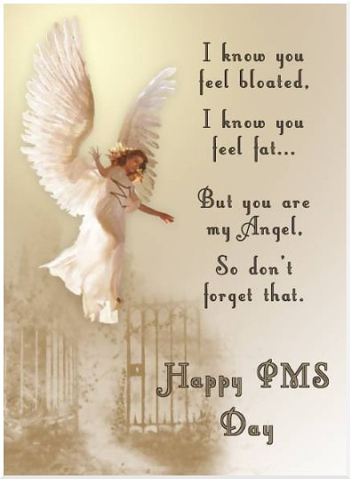 happy pms day quote