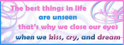 kiss cry and dream
