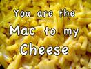 you are the mac to my cheese icon
