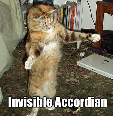 invisible accordian
