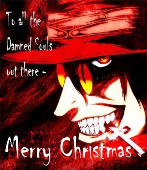 to all the damned souls out there merry christmas