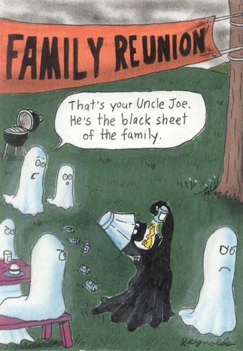 ghost family reunion