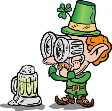 irish man has beer goggles