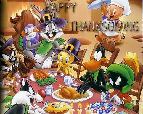 happy thanksgiving looney toons
