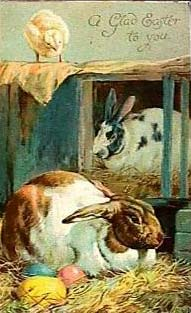 a glady easter to you