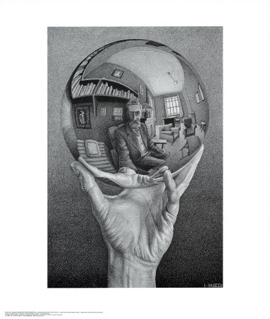 reflection in sphere