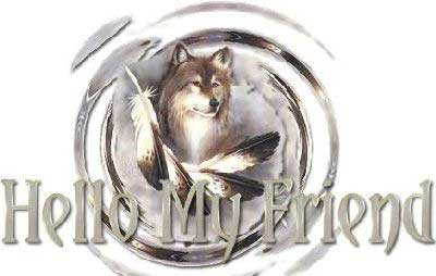 hello my friend wolf