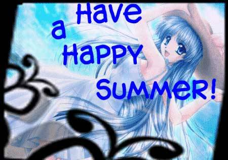 have a happy summer