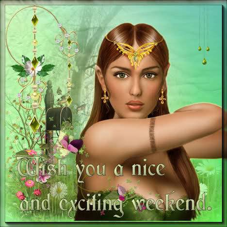 wish you a nice and exciting weekend